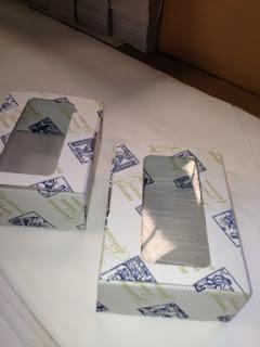 caja expositora con impresion flexografia
