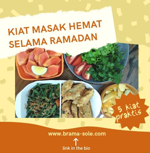 Kiat Masak Hemat Selama Ramadan