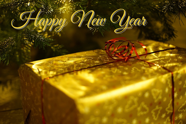 Happy New Year PNG Background