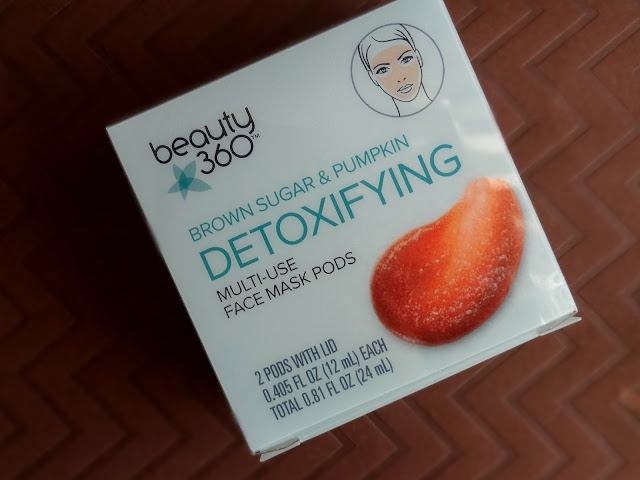 Beauty 360 Brown Sugar and Pumpkin Detoxifying Multi-Use Pods
