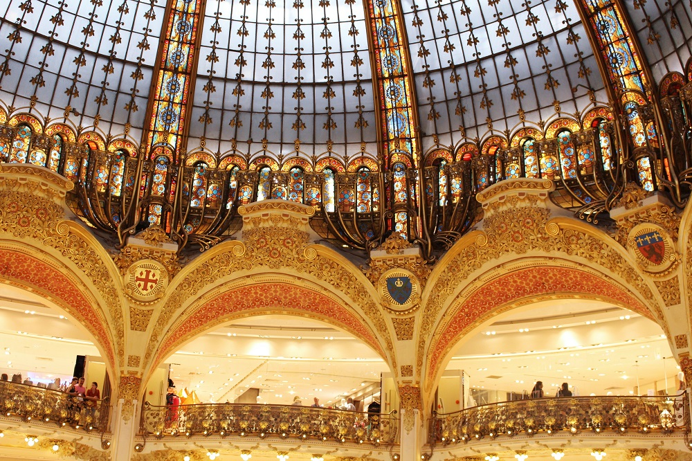 Galeries Lafayette - Paris travel & lifestyle blog
