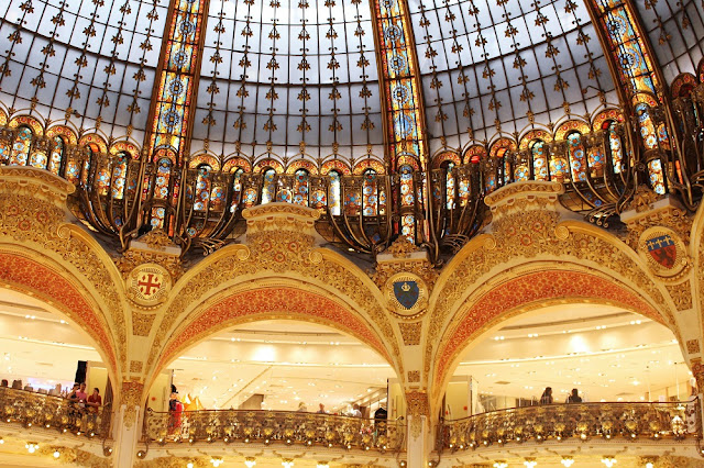 Galeries Lafayette - Paris travel & lifestyle blog