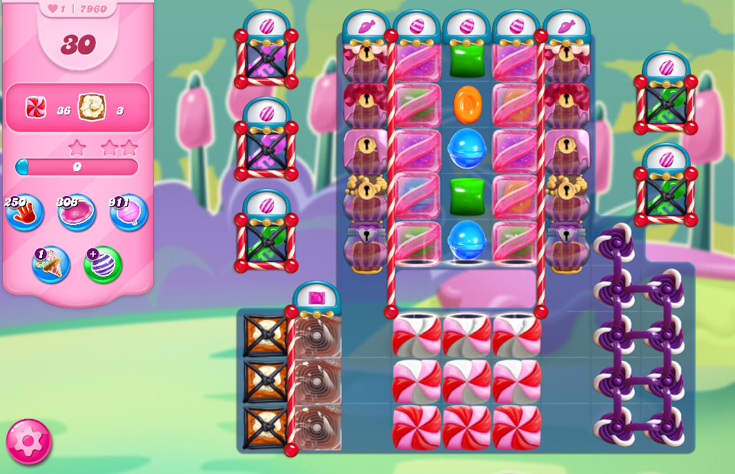 Candy Crush Saga level 7960