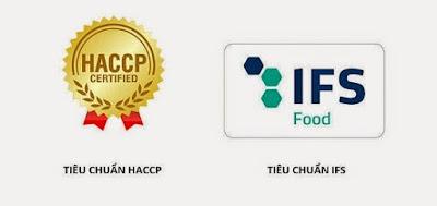 Biomil đạt tiêu chuẩn IFS 6