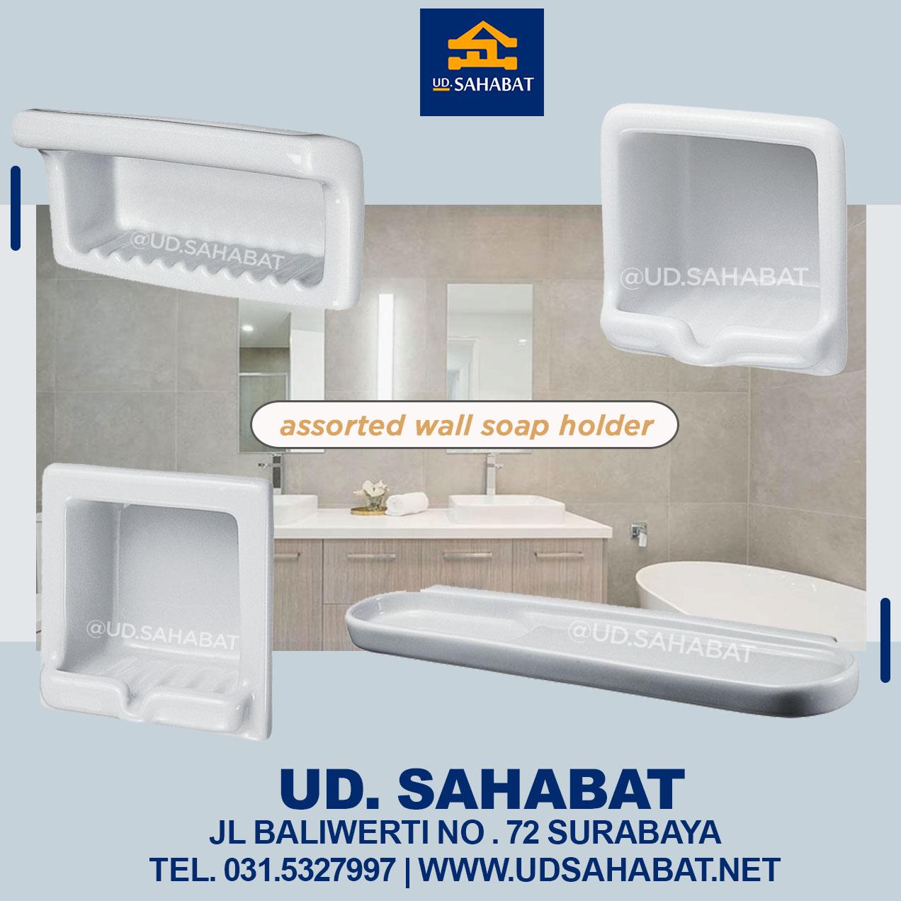 jual produk kamar mandi rak sabun mewah minimalis surabaya