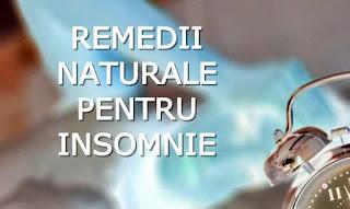 top remedii naturiste tratament pt insomnie