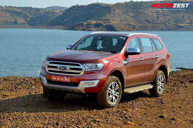 All New 2016 Ford Endeavour 3.2 4x4