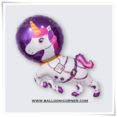 Balon Foil Space Unicorn Randy