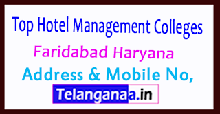 Top Hotel Management Colleges in Faridabad Haryana