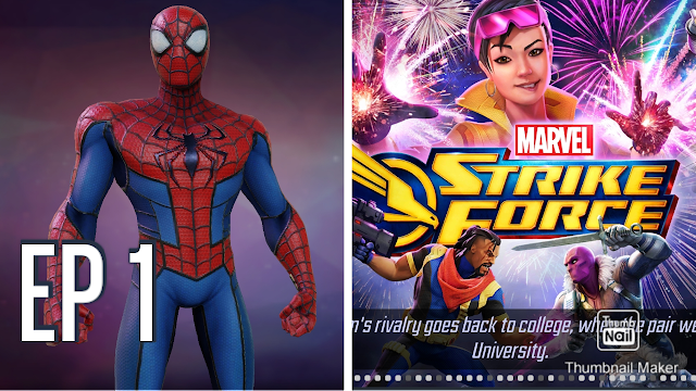 Let's Play Marvel Strike Force 2021 [EP 1] WHERE IS THE GAME? 😲