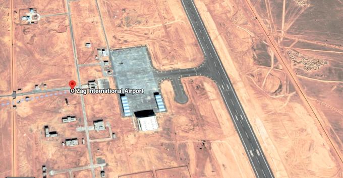 Marruecos convierte un aeropuerto civil próximo a las fronteras saharaui y argelina en una base militar israelí.