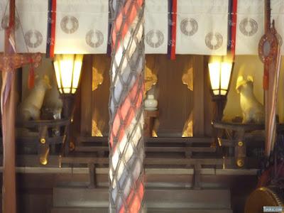 福島天満宮吉高稲荷神社拝殿