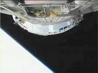 The H-II Transfer Vehicle-4 separates from the H-IIB launch vehicle second stage. Image Credit: NASA TV