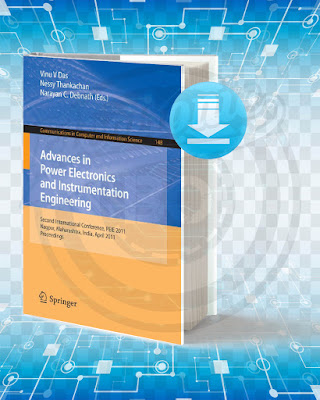 Free Book Advances In Power Electronics And Instrumentation Engineering pdf.