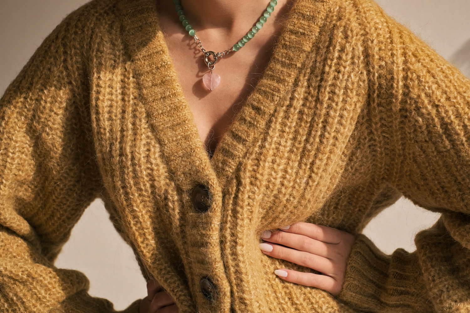a close up picture of woolen sweater