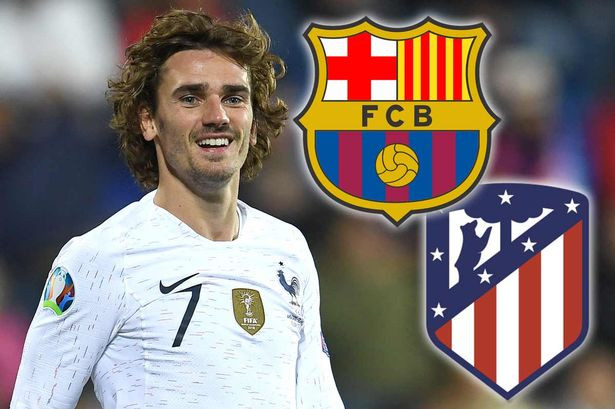 Barcelona confirm the signing of Antoine Griezmann from Atletico Madrid for €120million