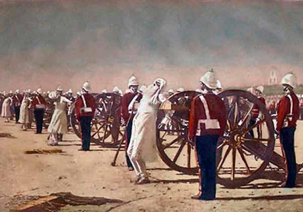 Василий Васильевич Верещагин - Подавление индийского восстания англичанами. 1884