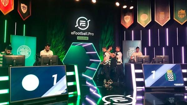 Konami y Efootball.Pro anuncian los ganadores del segundo matchday