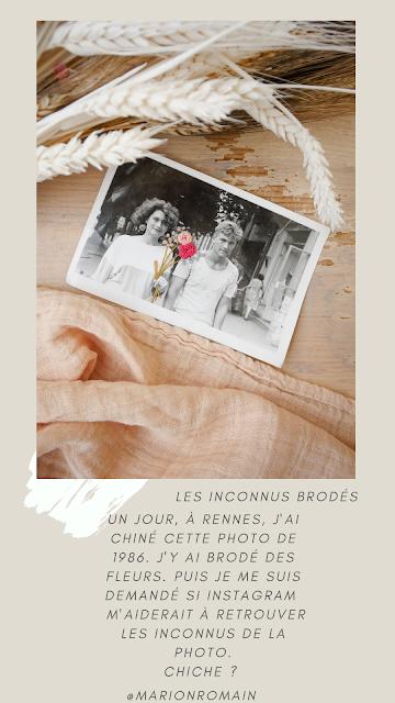Les inconnus brodés - Marion Romain