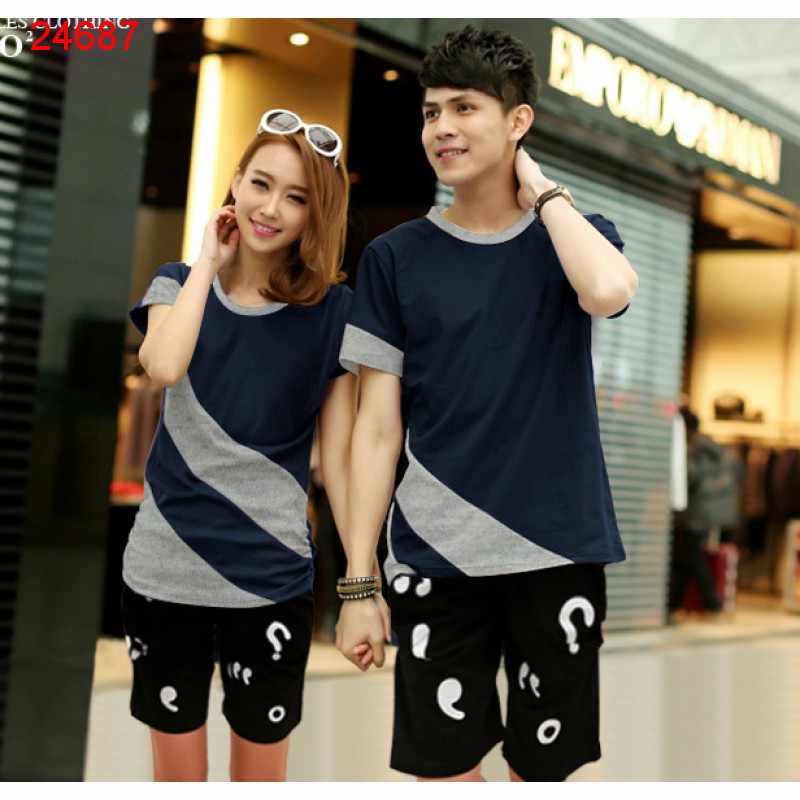 Jual Couple Setelan CS Candy Navy Misty - 24687