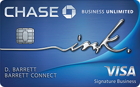 Chase Ink Unlimited Card
