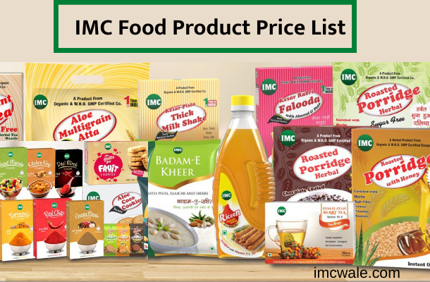 IMC Food product list with price