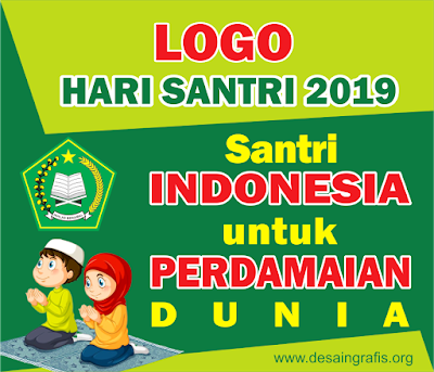 Logo Hari Santri Nasional 2019 cdr