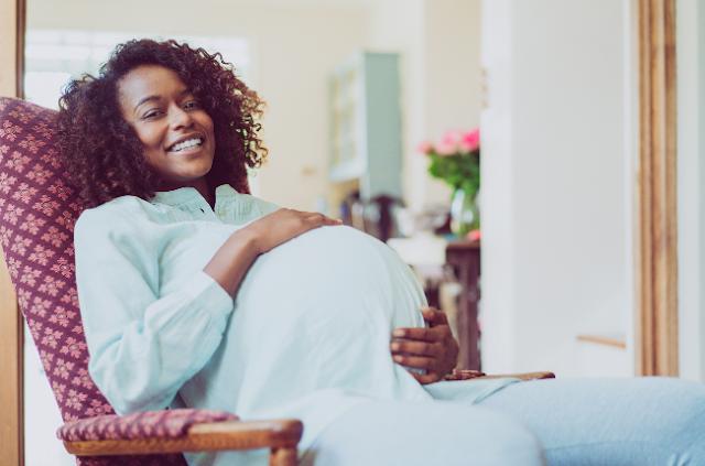 Hair growth during pregnancy
