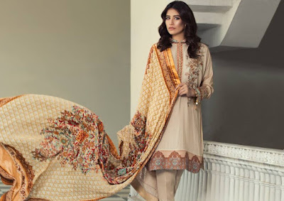 alkaram-winter-dresses-collection-3-piece-silk-velvet-dupatta-2016-3