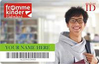 buat kartu pelajar nisn siswa nasional indonesia idcard barcode murah bandung
