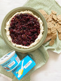 very merry cranberry & caramelized onion dip #kalonasupernatural #ad #appetizer