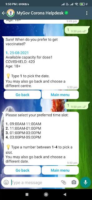 Jameel Attari, Jameelattari, Whatsapp se covid vaccine ko kaise book kare, whatsapp se coved vaccine ka registration kaise kare, Covid vaccine registration on whatsapp, व्हाट्सएप के जरिए कोविड-19 वैक्सीन का रजिस्ट्रेशन और  स्लॉट बुक कैसे करें