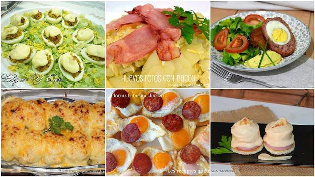 6 formas diferentes de cocinar los huevos. Julia y sus recetas