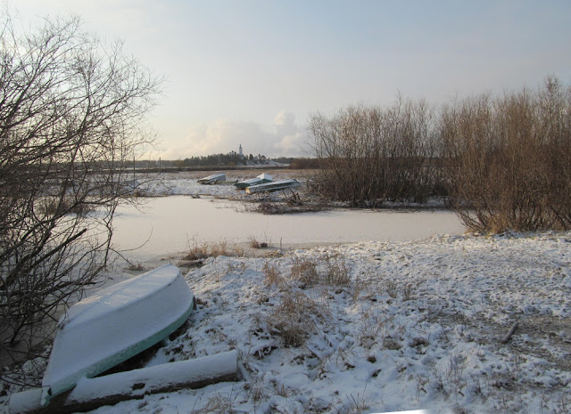 Первый лед на реке