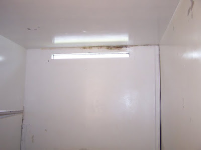 """Window"" of a typical Polunsky Unit death row cell."