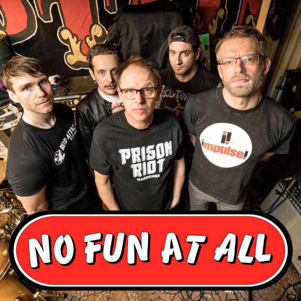 No Fun At All recording new album