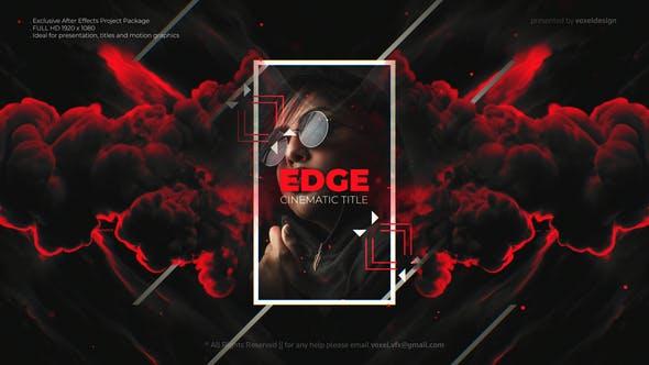 Videohive - Edge Cinematic Titles 28680223