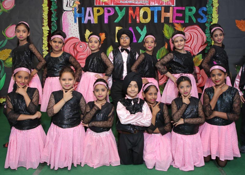 Students during Mothers Day celebrations at Spring Dale