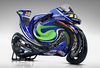 moto Yamaha deformada