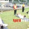 595 Orang Casis Bintara Polri, Ikuti Ujian Kesamapataan di Gor Sudiang dan SPN Batua Polda Sulsel