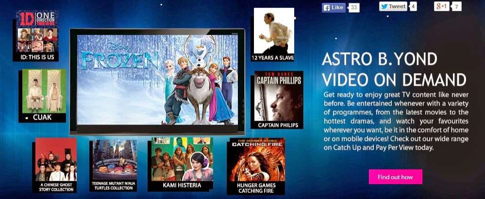 Astro B.Yond Video On Demand