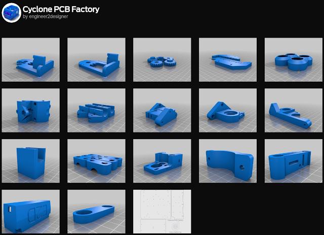 E2D Cyclone PCB Factory