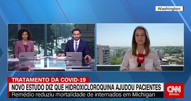 Estudo americano vê resultados positivos da hidroxicloroquina para a Covid-19 (CNN Brasil)