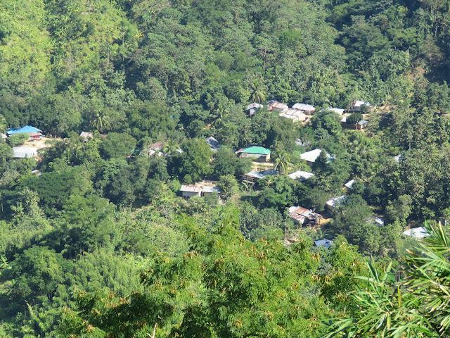 Bandarban City from Nilachal