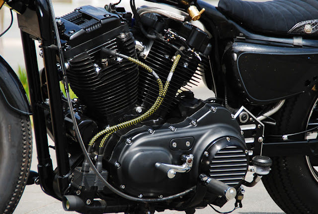Harley Davidson Sportster By Selected Custom Motorcycles Hell Kustom