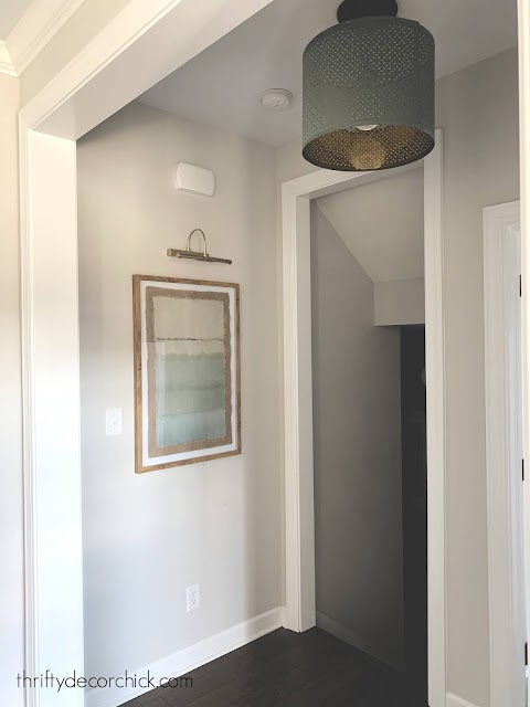 change recessed light to pendant