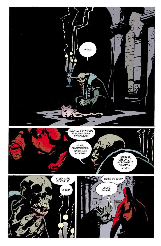 Hellboy - tom 1 strona przykładowa