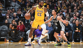 3-Point Barrage Leads Lakers to Easy Win vs. Spurs