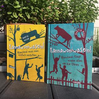 """Vorstellung der Buchreihe """"Kannawoniwasein"""" von Martin Muser auf Kinderbuchblog Familienbücherei"""