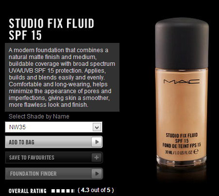 MAC Studio Fix Fluid NC35 : Swatch, Review And FOTD (Demo